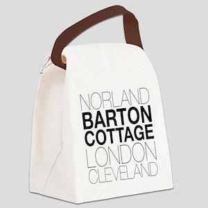 Sense Sensibility Locations Canvas Lunch Bag