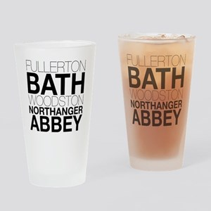 Northanger Abbey Locations Drinking Glass
