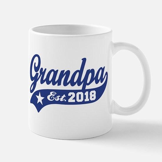 Grandpa Est. 2018 Mug