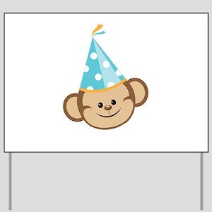 Celebration Monkey Yard Sign