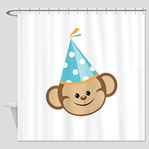 Celebration Monkey Shower Curtain