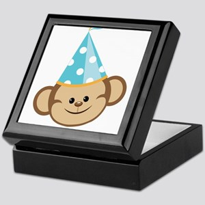 Celebration Monkey Keepsake Box