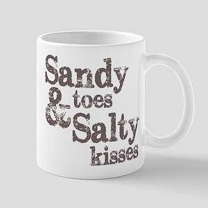 Sandy Toes Salty Kisses Mug