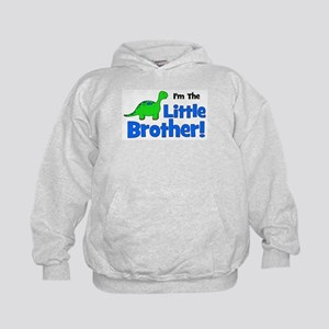 I'm The Little Brother! Dinos Kids Hoodie