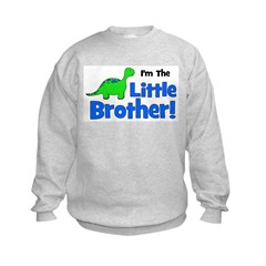 I'm The Little Brother! Dinos Sweatshirt