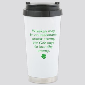 Irish Know To Love Thy Enemy Travel Mug