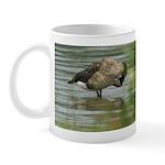 Goose Preening Mug