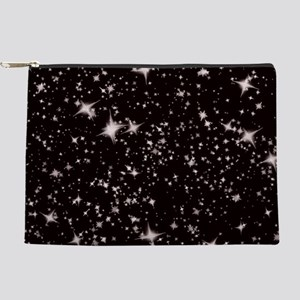 black starry night Makeup Pouch