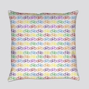 bicycles Everyday Pillow