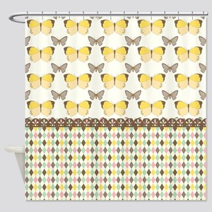 Memorable Butterfly Shower Curtain