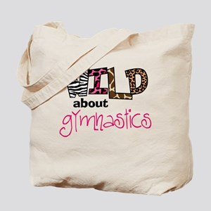 Wild about Gymnastics Tote Bag