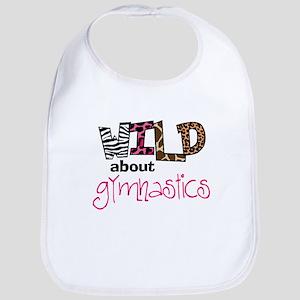 Wild about Gymnastics Bib