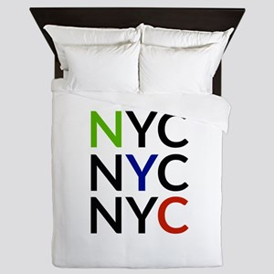 NYC Queen Duvet