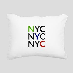 NYC Rectangular Canvas Pillow
