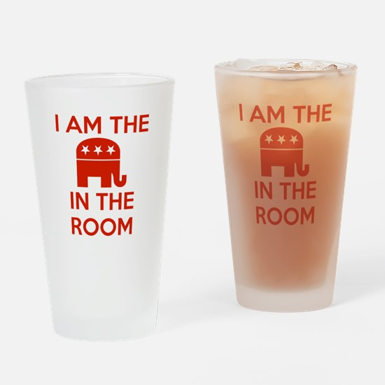 I Am the Elephant in the Room Drinking Glass