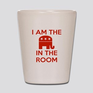 I Am the Elephant in the Room Shot Glass