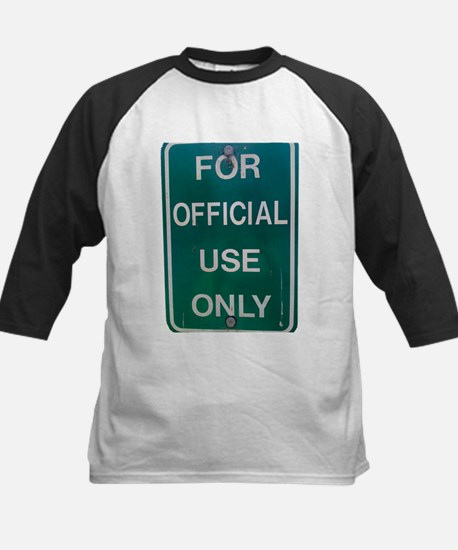 For Official Use Only Baseball Jersey