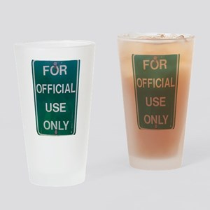 For Official Use Only Drinking Glass