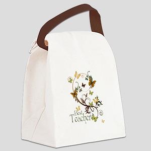 Best Teacher Canvas Lunch Bag