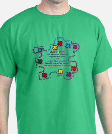 Puzzle Pieces No Two Alike T-Shirt