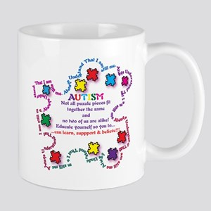 Puzzle Pieces No Two Alike Mug