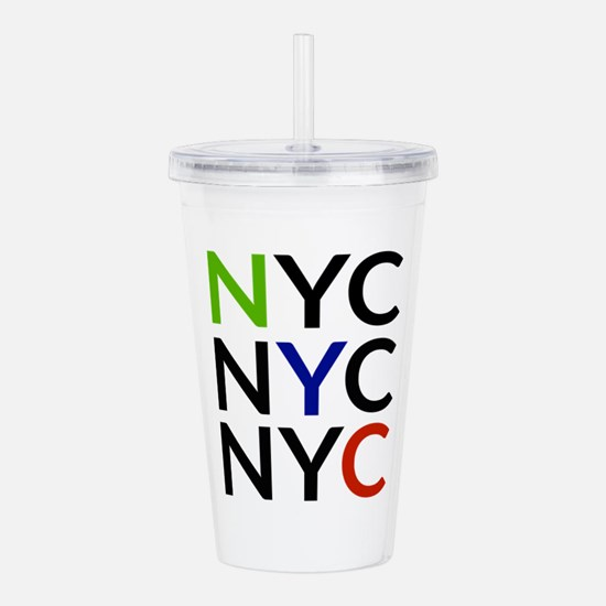 NYC Acrylic Double-wall Tumbler