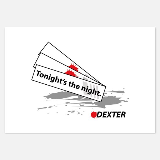 Tonight's The Night - Dexter Invitations