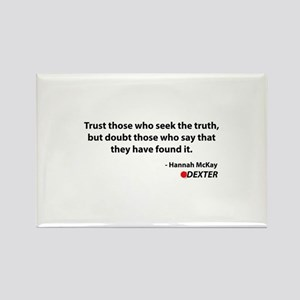 Hannah Quote Rectangle Magnet