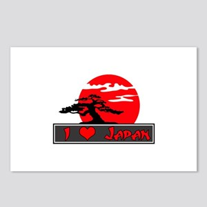 I Heart (Love) Japan Postcards (Package of 8)
