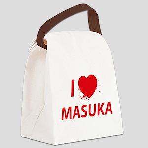 I Love Masuka - Dexter Canvas Lunch Bag