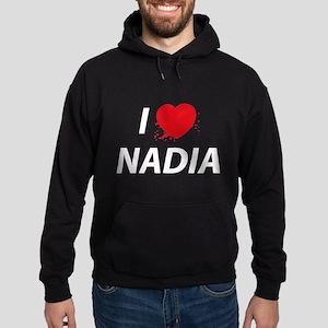 I Love Nadia - Dexter Hoodie (dark)