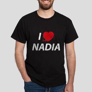 I Love Nadia - Dexter Dark T-Shirt