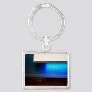 Landscape Keychain - Security marker on electronic