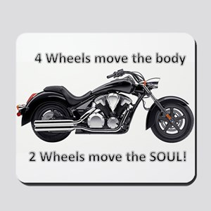 Biker Quote Mousepad