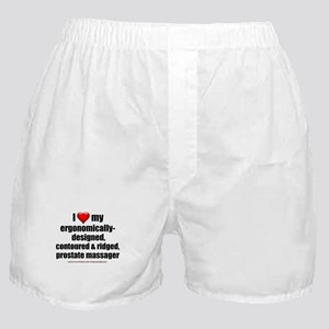 """Love My Prostate Massager"" Boxer Shorts"