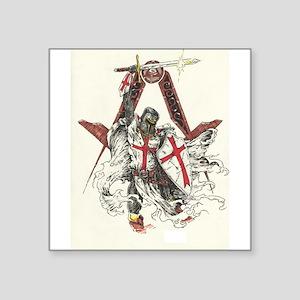 Knights Templar Sticker