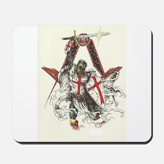 Knights Templar Mousepad
