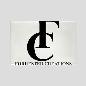 Forrester Creations Logo 01 Rectangle Magnet