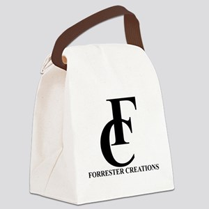 Forrester Creations Logo 01 Canvas Lunch Bag