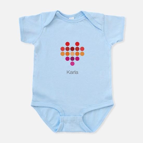 I Heart Karla Body Suit