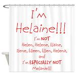 I'm Helaine Shower Curtain