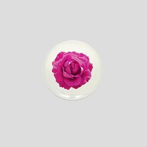 Cerise rose Mini Button