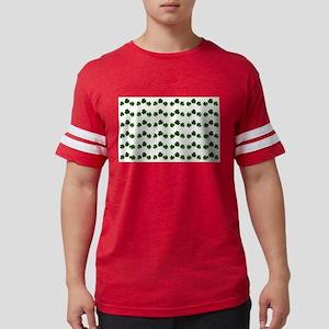 st patricks day shamrocks Mens Football Shirt