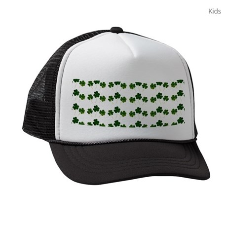 439782e27f9 st patricks day shamrocks Kids Trucker hat by Admin CP13506533