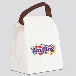 Dazzling Universe Canvas Lunch Bag