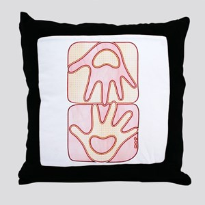 mine & yours 2 Throw Pillow