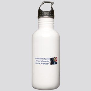 John F Kennedy Water Bottle