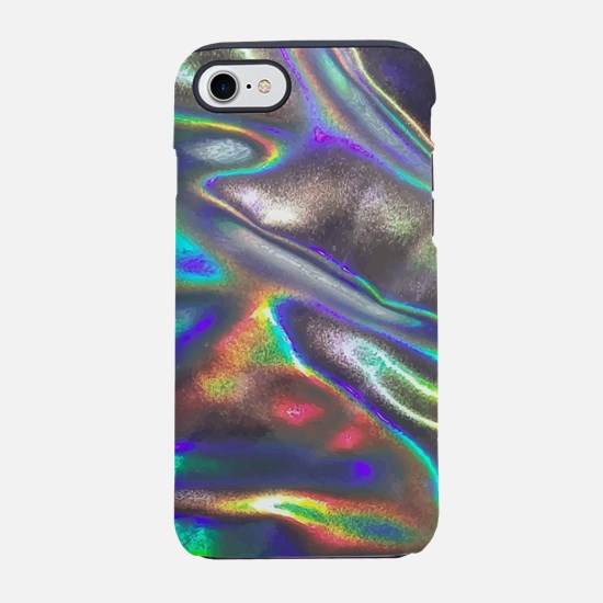 holographic iPhone 7 Tough Case
