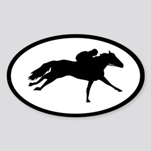 stick racehorse Sticker