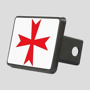 Templars maltese cross Hitch Cover